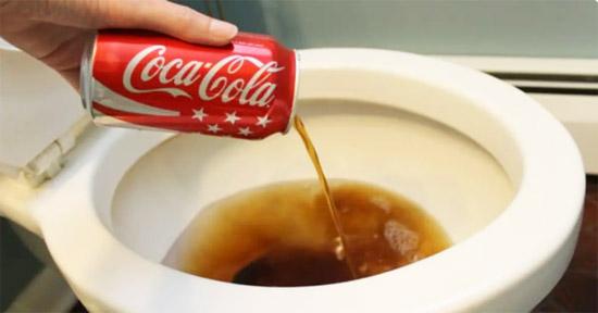 coca nettoyage toilette